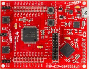 MSP430 Development Board Operating Environment